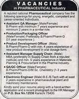 Pictures of Job Opportunities In Pharmaceutical Industry